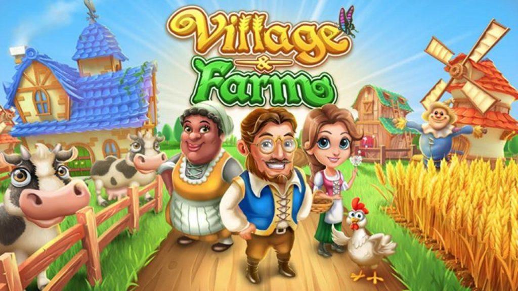 เกมทำฟาร์มน่าเล่น เกม Village and Farm